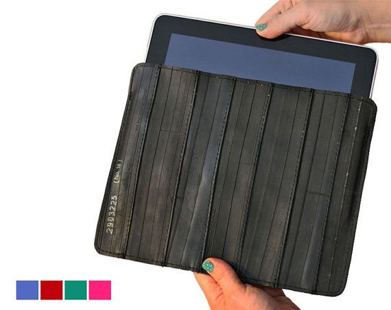 # Tablet Cover from discarded bicycle tubes