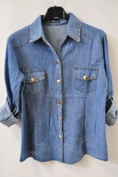 Koszula Damska Jeans ONL0072  _A9  (S-2XL)