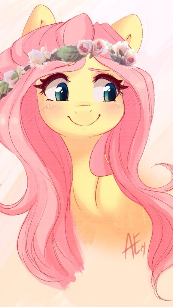 MLP. Fluttershy wallpaper.