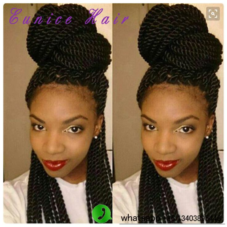 "Box Braids Crochet Hair Extensions 22"" Synthetic Havana Mambo Twist"