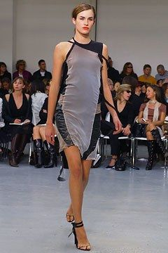 Helmut Lang Spring 2003 Ready-to-Wear Fashion Show - Madelaine Hjört (CITY), Helmut Lang