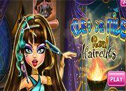 Cleo De Nile Real Haircuts | Juegos Monster High - jugar online