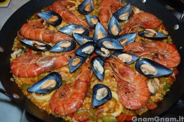 Scopri la ricetta di: Paella de marisco