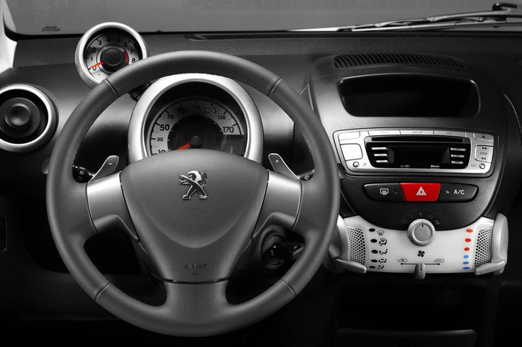 Peugeot 107 features
