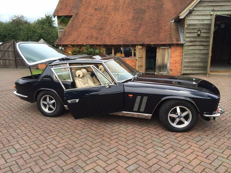 """#46. Thought twice about including this Jensen Interceptor FF (""""Ferguson Formula""""), the twin-gilled front quarters marking it as one of the rare-when-new (320 built total, '67-76), few-surviving four-wheel-drive models. Though it was never exported to the US (the driveline being RHD only), the car also included all-wheel mechanical ABS & an early traction control system."""
