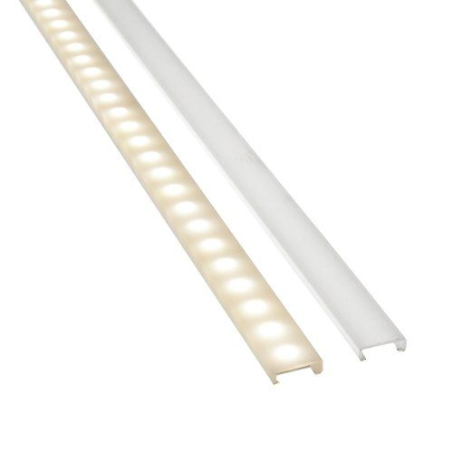 Amazon Com Tapeguard Led Strip Light Cover 39 4 Inch