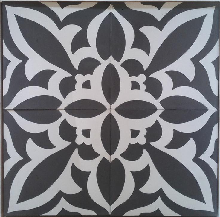 carreau de ciment mod le elv 8181 en 20x20 carreaux de. Black Bedroom Furniture Sets. Home Design Ideas
