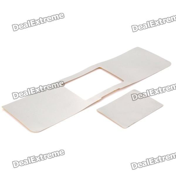 """Made of high quality polymer semi-metal material - Protect the palm zone and touch pad from scratch, dust and greasy dirt - Suitable for Macbook Pro 15"""" notebook http://j.mp/1ljFDM9"""
