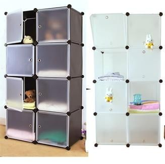 These stackable cubbies means that you can can customize them however you want.