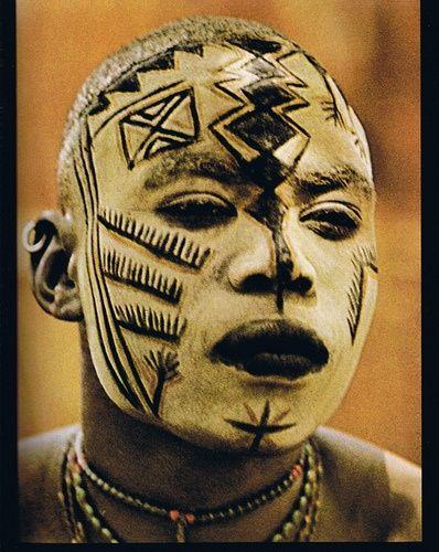 Africa | The Nuba of Kau | © 1976 publication: People of Kau - Photography & Text by Leni Reinfenstahl.