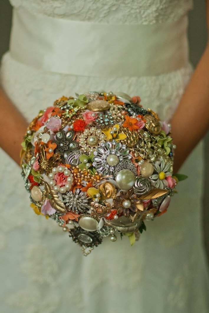 Brooch Bouquet Tutorial                                                                                                                                                                                 More
