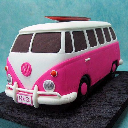 Pink Combi Cake cakepins.com