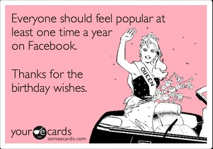 someecards thanks for the birthday wishes - Google zoeken
