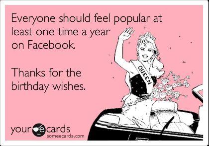 someecards thanks for the birthday wishes - Google zoeken