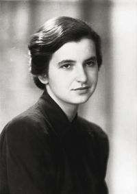 Rosalind Franklin: female scientist instrumental in discovering the structure of DNA. Watson and Crick broke into her lab and stole some crystalographs she had taken; this helped them deduce the structure of DNA. Unfortunately she never got the credit for any part of the discovery.