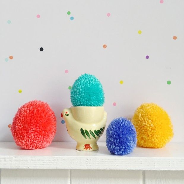79 best playful pom poms images on pinterest pom poms for Pom pom craft patterns