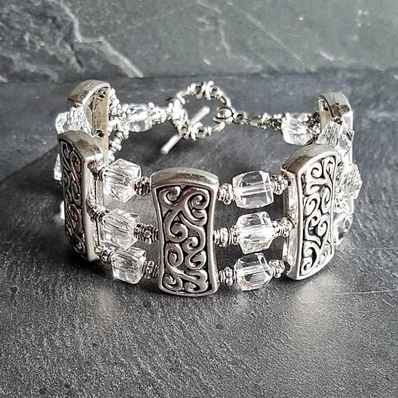 Check out this item in my #Etsy $shop https://www.etsy.com/listing/552810050/celtic-vine-bracelet-ren-faire #bracelet #jewelry #celtic #vine #wedding #weddingjewelry #bride #bridal #bridesmaid #bridesmaidjewelry #gift