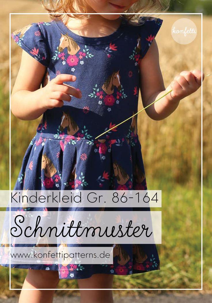 einfaches Sommerkleid für Mädchen