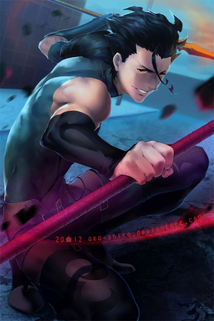 I think Lancer's my favourite Hero from Fate/Zero. Sorry Saber.