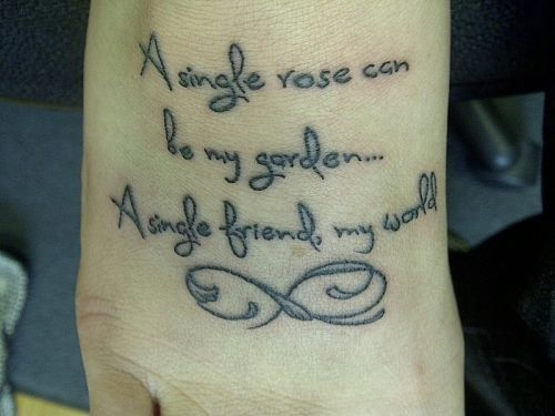 Best 20+ Friendship tattoo quotes ideas on Pinterest | Sister ...