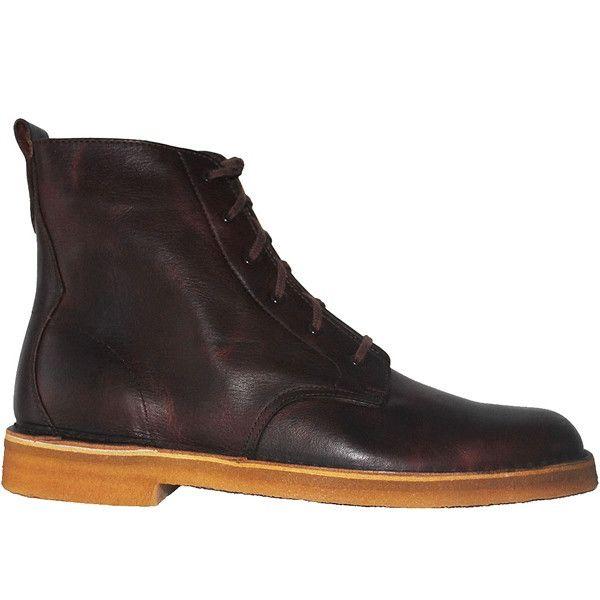 Clarks Originals Desert Mali - Rust Leather High Top Boot