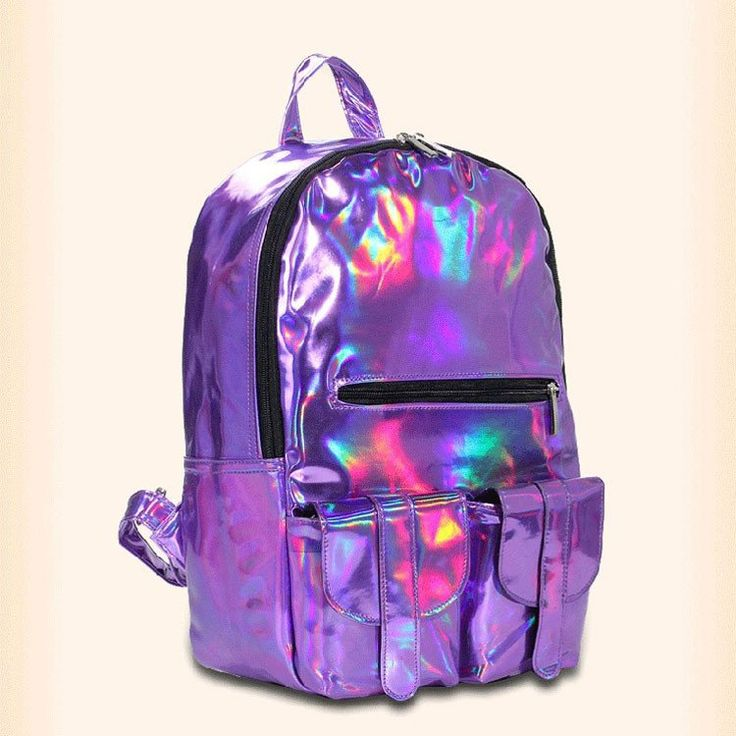 School Fashion colorful Gradient IPL Backpack