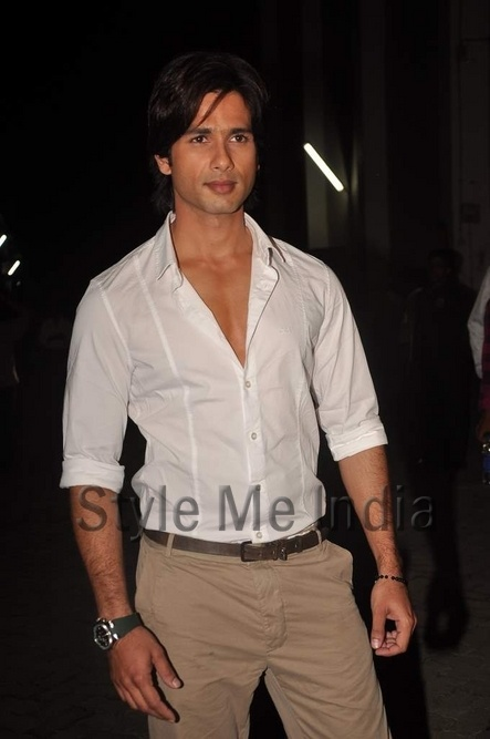 "Shahid Kapoor ""My funda is never choose between women,"" http://shar.es/q0974"