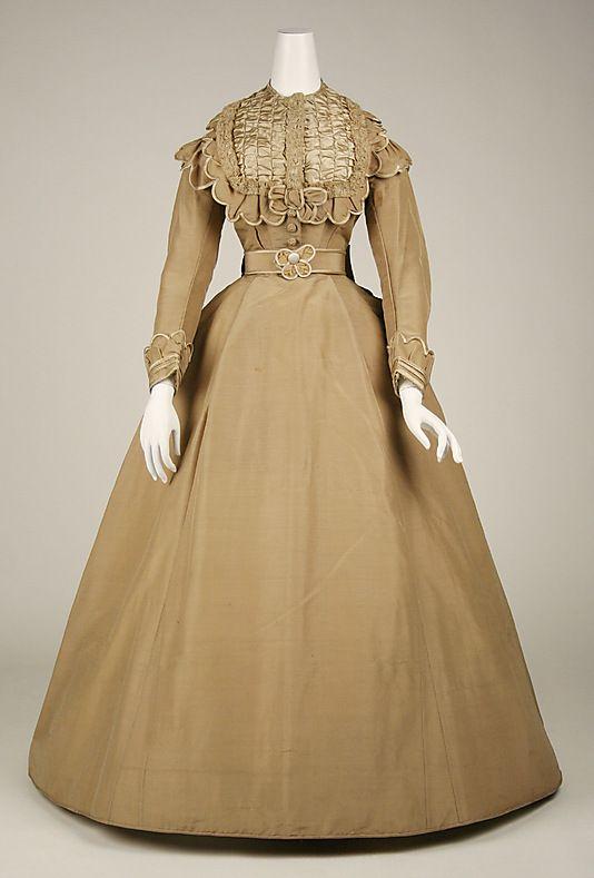 American Silk Dress 1865-69