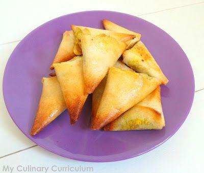 My Culinary Curriculum: Samossas au porc et au curry cuits au four (recett...