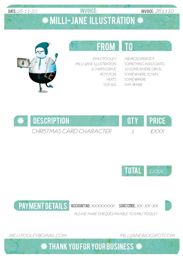 24 best Design Invoices images on Pinterest Identity, Cd cover - how to do invoices