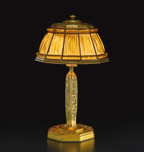 And bronze table lamp tiffany studios the shade with iridescent green - 1058 Best Tiffany Ceramics Silver Amp Glassware Images On