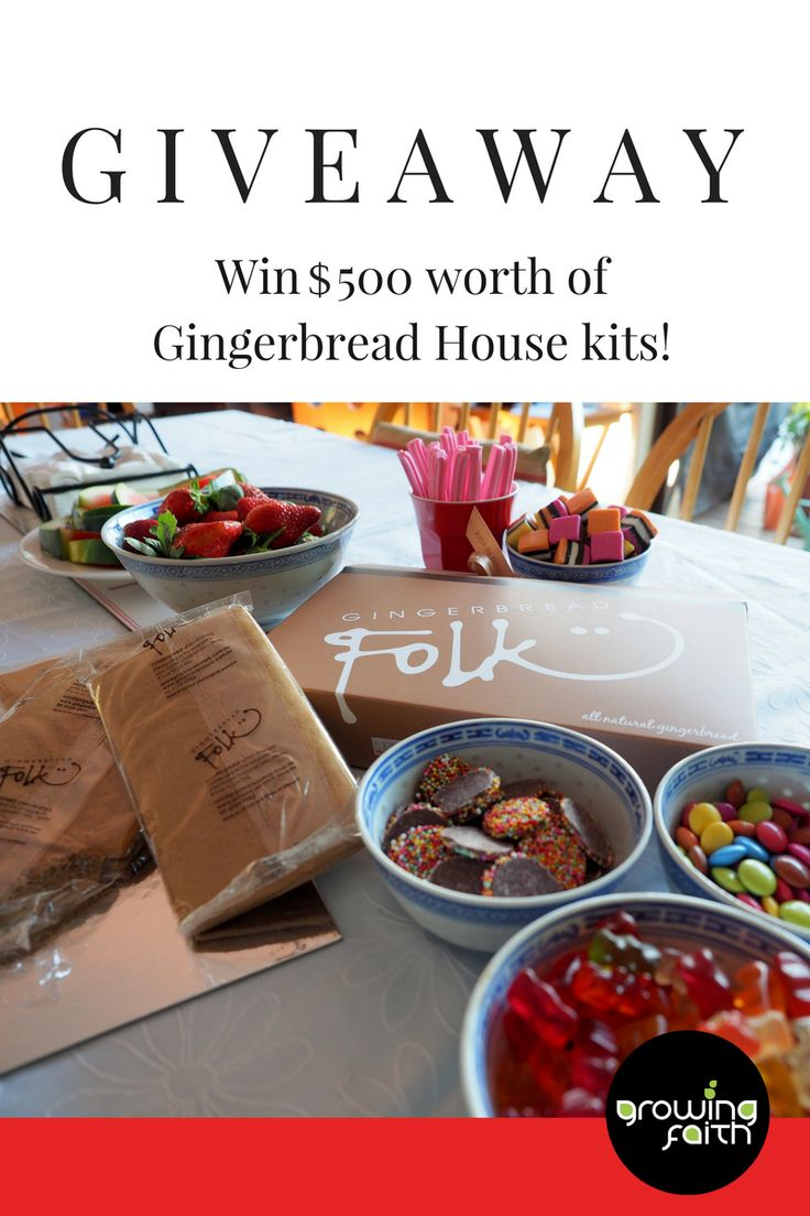 Planning for a Christmas outreach event, or a gingerbread decorating event? Well here's your chance to win $500 worth of FREE gingerbread house kits! Enter the comp now: http://bit.ly/2dHxsH5