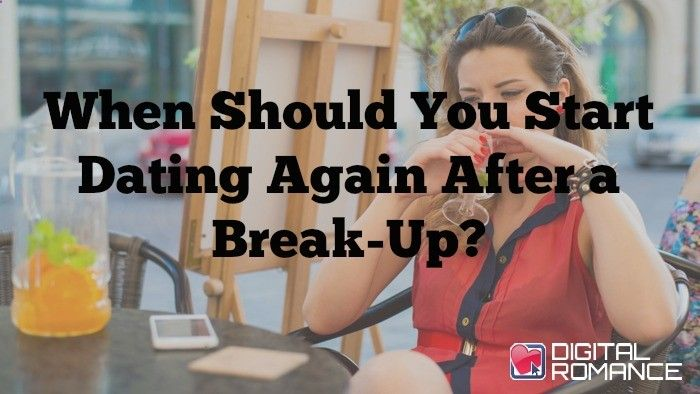 How long after a relationship to start dating again