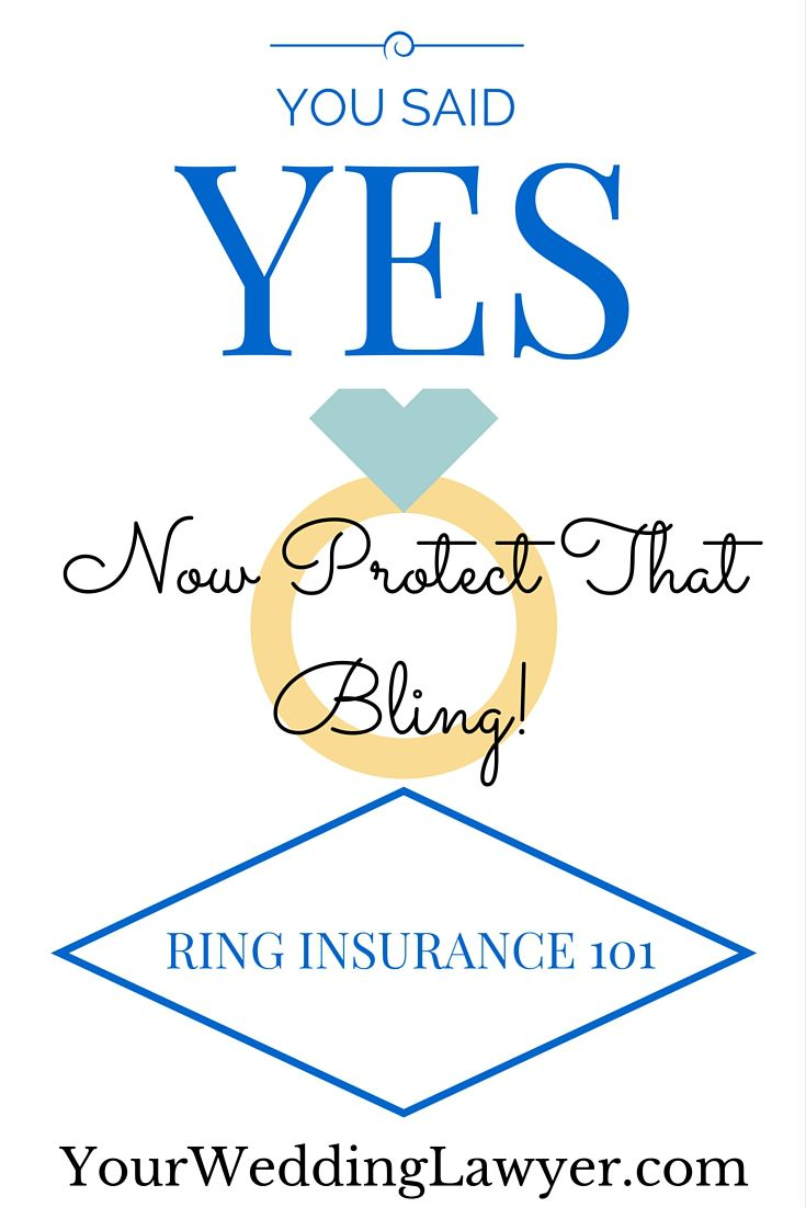 "Recently engaged?  let's get down to how you can protect that beautiful new bauble!  Actually, to my proposers too, you should all listen up. This post is about engagement ring insurance.  And, it's best to get that ring insured right after you purchase it. Click here to learn more about engagement ring insurance (aka ""jewelry insurance"")..."
