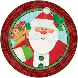 Plates Christmas Design