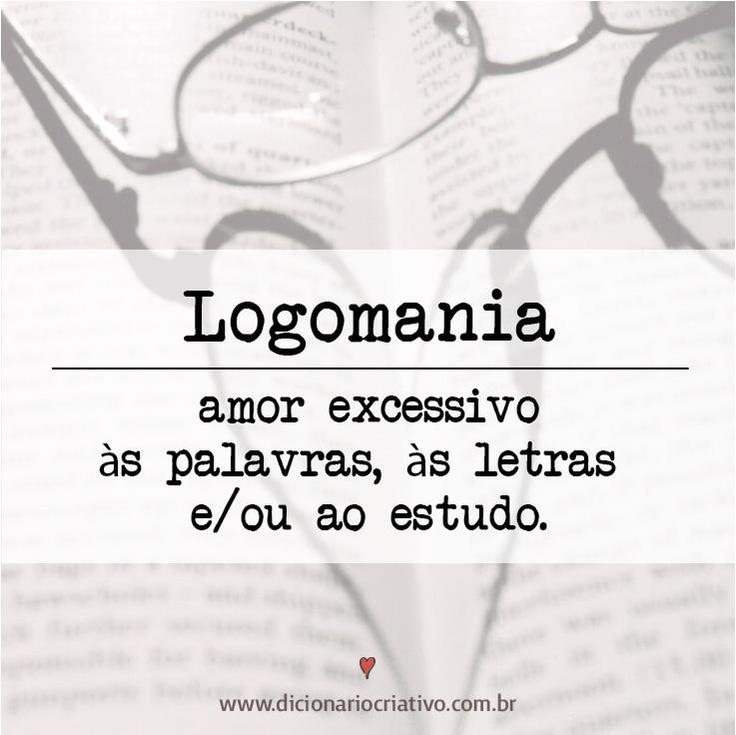 Da série: glossário ♥