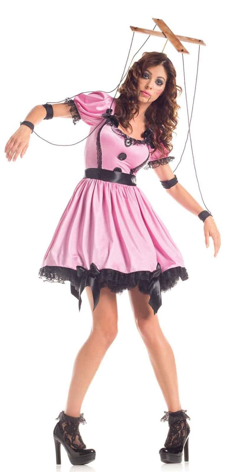 Pink Womens Marionette Costume from Buycostumes.com