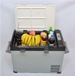 This fabulous 32L car chest freezer functions using the latest in Solar Powered technology #medical #food