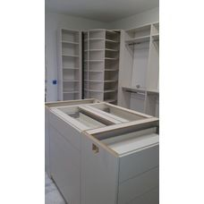 Complete Walk In Closet System With The Most Unique Closet System   The Revolving  Closet Organizer