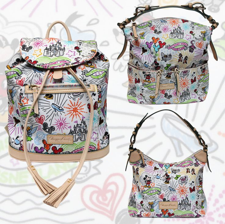 New Dooney & Bourke Items Coming July 14 to Walt Disney World Resort - I want that nylon backpack!  Cute & versatile :)