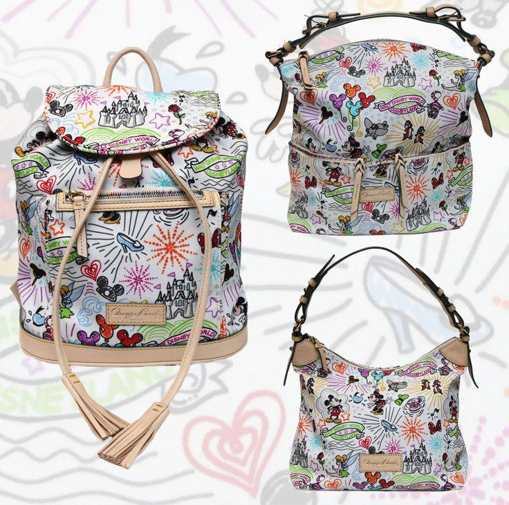 New Dooney & Bourke Items Coming July 14 to Walt Disney World Resort - I want that nylon backpack!  Cute & versatile :)