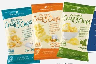 Ceres Organic Crispy Chips. Gluten Free Chips.