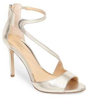 7d1582de76a JEWEL BADGLEY MISCHKA Jewel by Badgley Mischka Tayler Sandal  sandals  gold   shoes