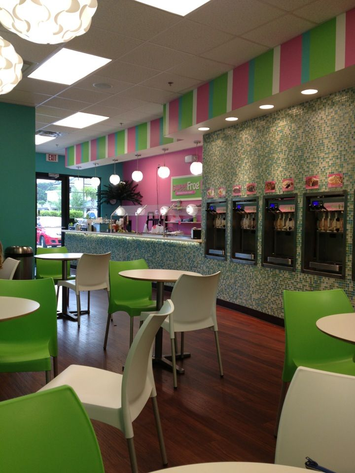 Sweet Frog Frozen Yogurt  soooo yummy!!