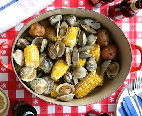 63 best images about Parties/New England Clam Bake, Lobster Bake ...