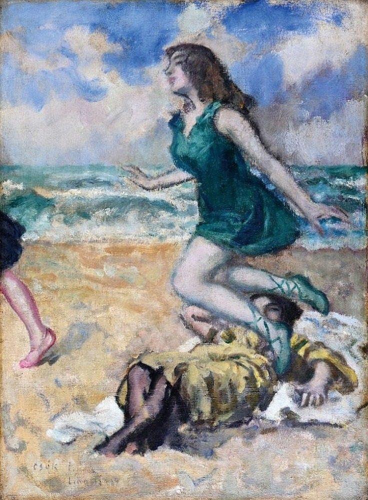 Csók István (Sáregres, 1865-Budapest, 1961.): Züzü - by POLGAR Aukciósház Kft