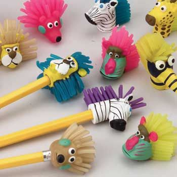 Animal Pencil Toppers Craft