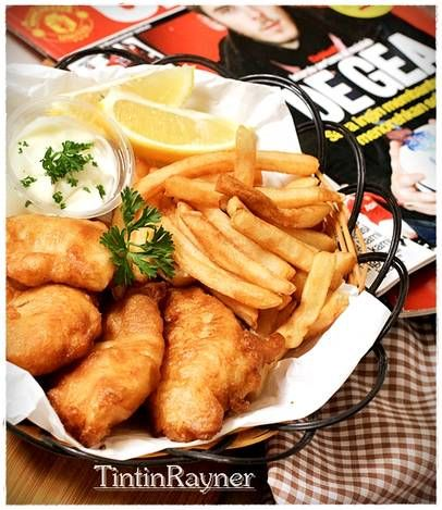 Fish and Chips NO Beer ala rumah ;) favorit suami+the krucils