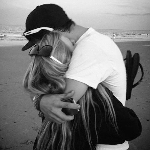 Get a hug on the beach by your crush ummm. awesome