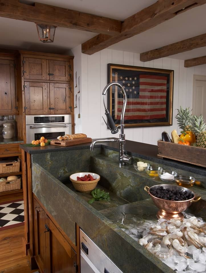 americana kitchen design kitchens by sarah pinterest